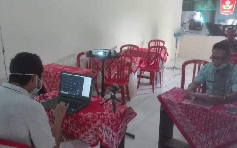 Rapat Daring Kegiatan Sekolah melalui Fasilitas Telekonference